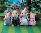 Flair Sylvanian Families Maces Mouse Family product image