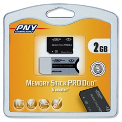 PNY Technologies Flash Memory Stick Pro Duo 2GB