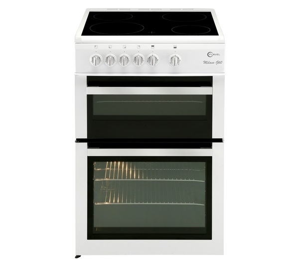 Flavel ml61cdw electric free standing oven review compare prices buy online - Gas electric oven best choice cooking ...