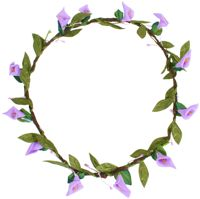 Hair Wreath - Calla Lily - Light Purple - CLICK FOR MORE INFORMATION
