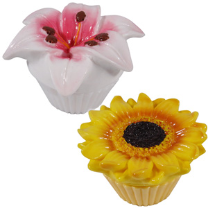 Lip Balms Set - Lily and Sunflower - CLICK FOR MORE INFORMATION
