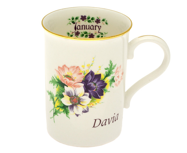 Of The Month Mug - January - CLICK FOR MORE INFORMATION