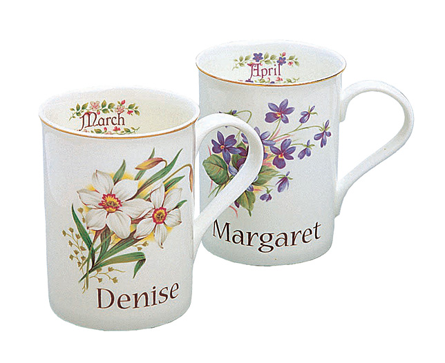 of the Month Mug - Personalised - CLICK FOR MORE INFORMATION