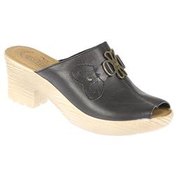Female Morgan Leather Upper Leather Lining Comfort Small Sizes in Black, Brown, Off White