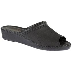 Fly Flot Female SSFLY1001 Leather Upper Leather Lining Comfort Small Sizes in Black, Navy, White