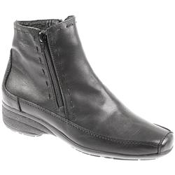 Womens Capofly604 Leather Upper Leather textile Lining Boots in Black