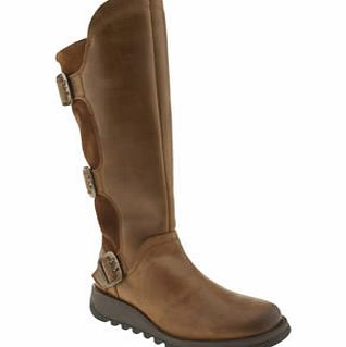 Fly London Tan Sminx Synd Warm Boots