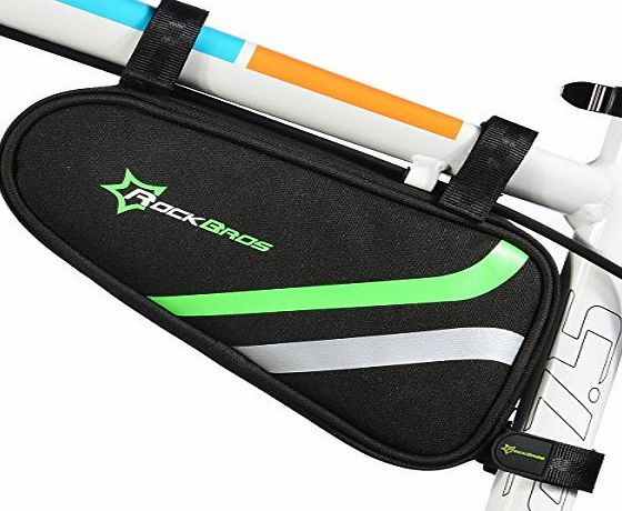 Flypro RockBros Cycling Bike Bicycle Triangle Frame Bag Front Bag Front Top Bag