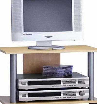 FMD TV and Stereo Stand Ernie 2 59.0 x 40.5 x 33.5 cm Beech