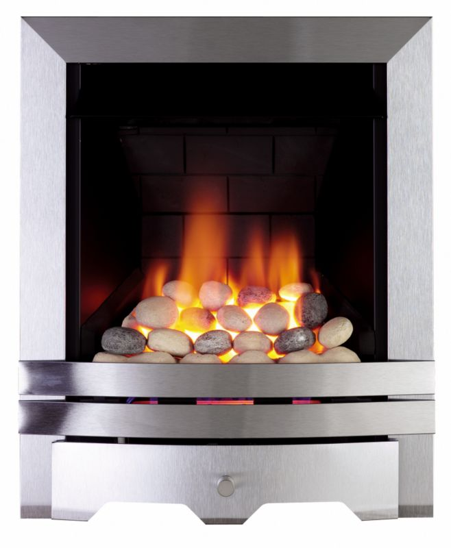 Focal Point Electric Fire: Focal Point Lulworth Multiflue Gas Inset Fire Heater