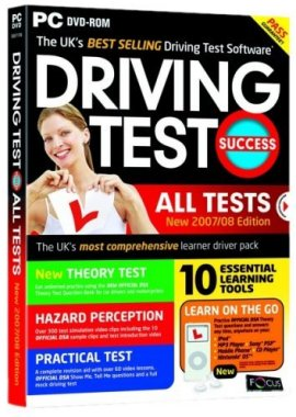 Focus Multimedia Driving Test All Tests 2007/2008 Edition PC