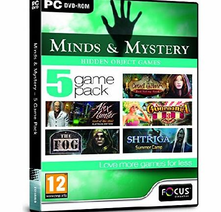 Focus Multimedia Ltd Minds and Mystery - 5 Game Pack (PC DVD)