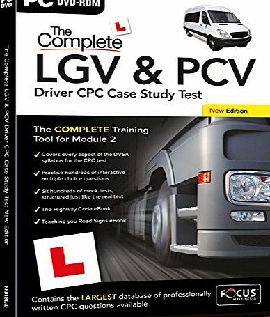 FOCUS MULTIMEDIA The Complete LGV and PCV Driver CPC Case study Test