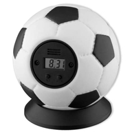football alarm clocks. Black Bedroom Furniture Sets. Home Design Ideas