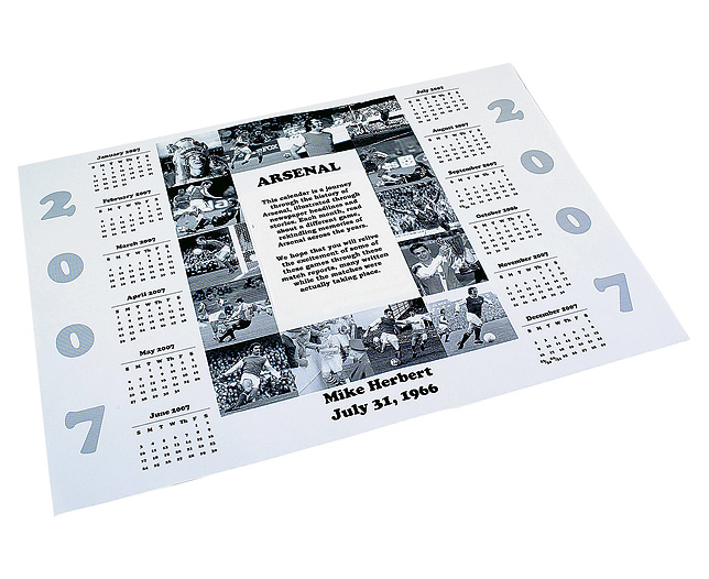 football club Calendar - Everton product image