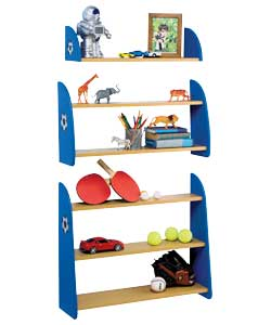 football Single Shelf Unit product image