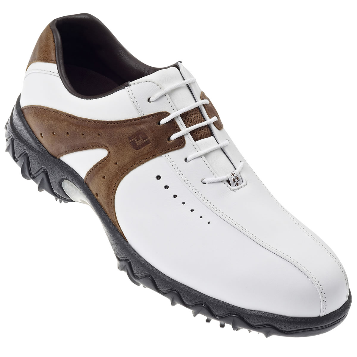 FootJoy Contour Golf Shoes White/Brown #54163 - review, compare prices