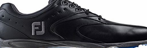 Footjoy Men Hydrolite 2.0 Golf Shoes, Black (Black), 7.5 UK 41 EU