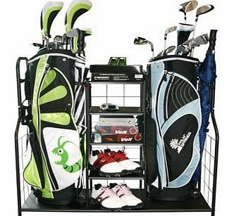 Golf Equipment Garage Tidy - Organise Your Gear
