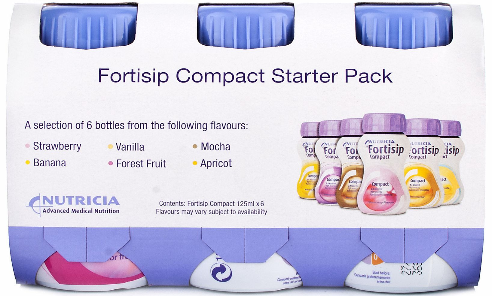 Fortisip Feeding Supplement Compact Starter Pack