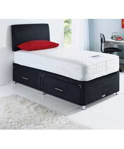 Forty winks divan beds for Small single divan bed with drawers