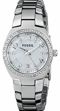 Fossil Ladies Sport, Stainless Steel case and Bracelet Watch With mop dial product image