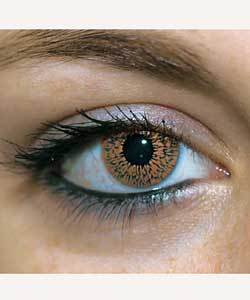 Cosmetic Fashion Lenses - Brown