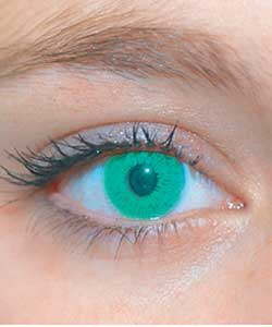 Fashion Contact Lenses - Green