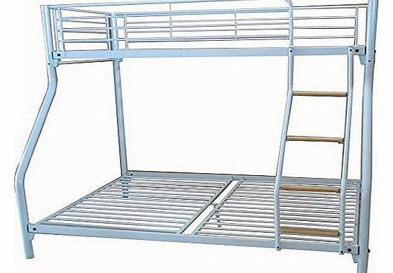 New metal triple children sleeper bunk bed frame in purple no mattress - Triple Sleeper Bunk Beds