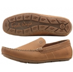 Mens De Niro Slip On Shoe Tan