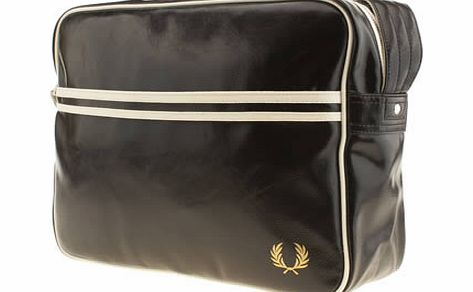 accessories fred perry black classic bags