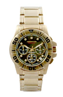 VANGUARD Diamond Gold Black Gents FS0093G