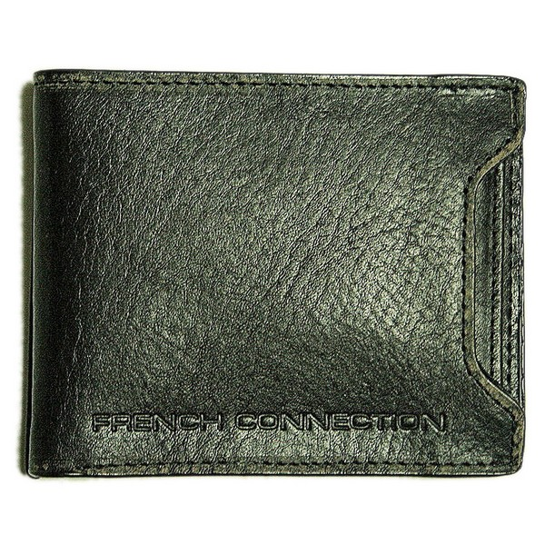 French Connection Black Detachable Pocket Wallet by FCUK product image