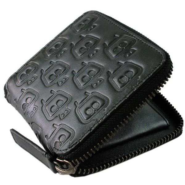 French Connection Black TeleHead Zip Wallet by product image