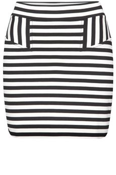 French Connection Promenade Stripe Skirt product image