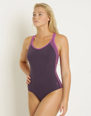 Soft Swimsuit - Damson