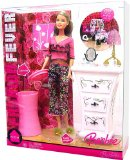 BARBIE FASHION FEVER DOLL and FURNITURE