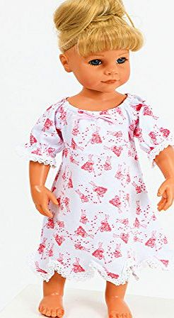 FRILLY LILY Fairy Fabric Nightdress by Frilly Lily for Baby Dolls 12-14 inch (30-36 cm)DOLL NOT INCLUDED To fit dolls such as My Little Baby Born ,and My First Baby Annabell