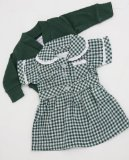 MEDIUM DOLLS SUMMER SCHOOL UNIFORM FOR 18-20 INS DOLLS AND BEARS