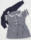 SMALL DOLLS SUMMER SCHOOL UNIFORM NAVY