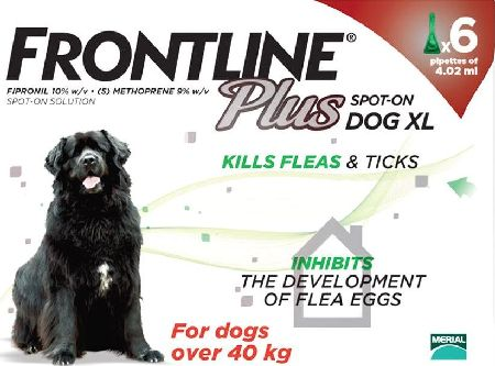 Frontline, 2102[^]0138962 Plus Spot On Extra Large Dog