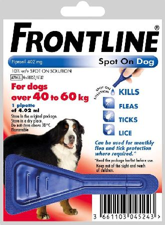 Frontline, 2102[^]0139108 Spot On Extra Large Dog