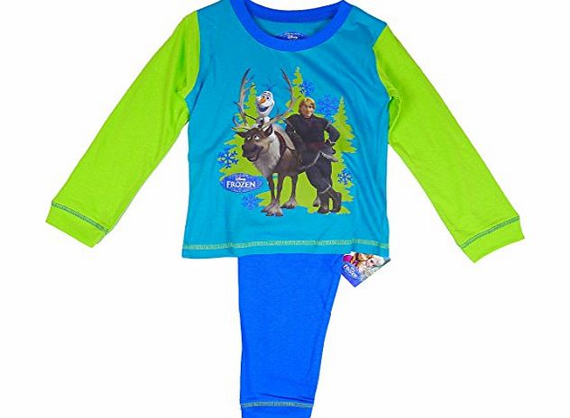 Frozen Boys Toddler Disney FROZEN Olaf, Sven amp; Kristoff Cotton Pyjamas sizes from 12 Months to 4 Years