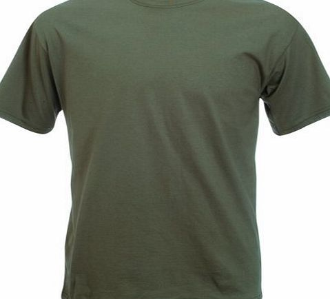 Fruit of the Loom Super Premium T-Shirt - Classic Olive Large