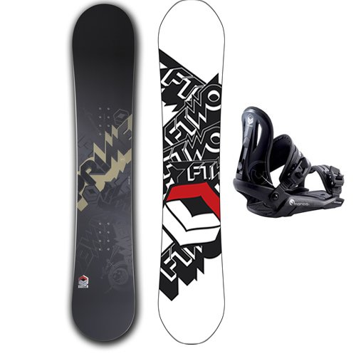 FTWO Prime 154 Snowboard + Bindings Package product image