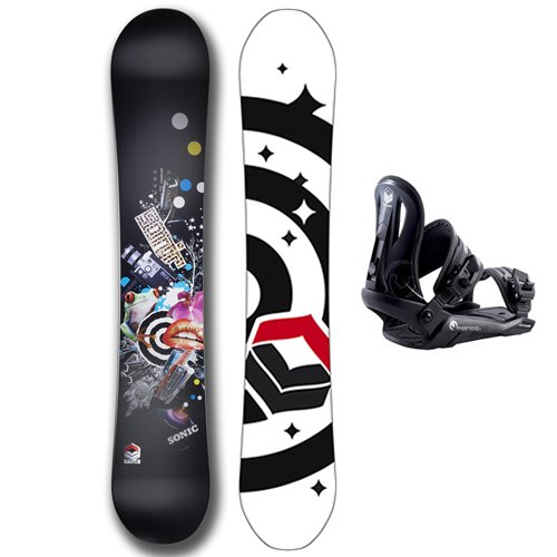 FTWO Sonic 160w Snowboard + Bindings Package product image