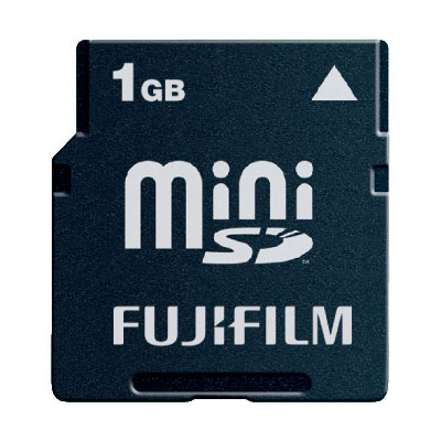 Fuji 1GB Mini SD Card product image