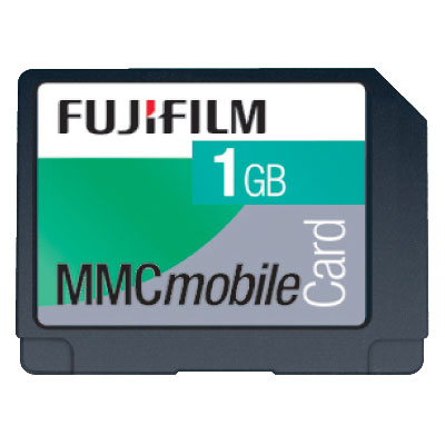 Fuji 1GB MultiMedia Card product image