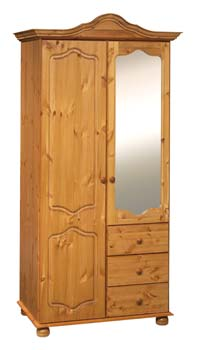 Furniture123 alesund 2 door combination wardrobe review for Furniture 123 wardrobes