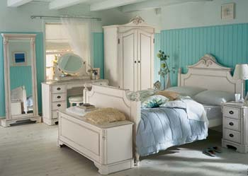 Amore Bedroom Set with Wardrobe